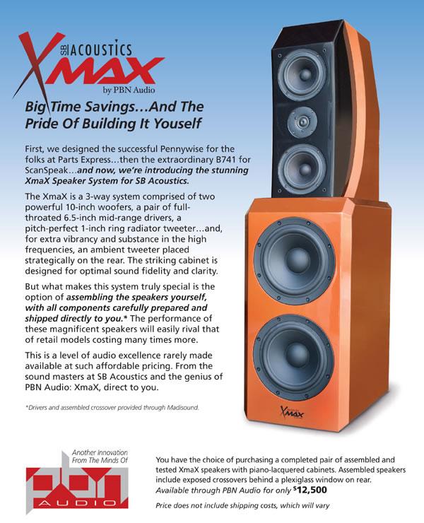 SB Acoustics Xmax – PBN Audio